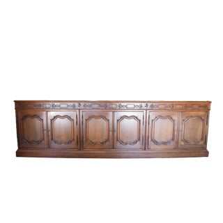19th Century Traditional Mix Wood Sideboard