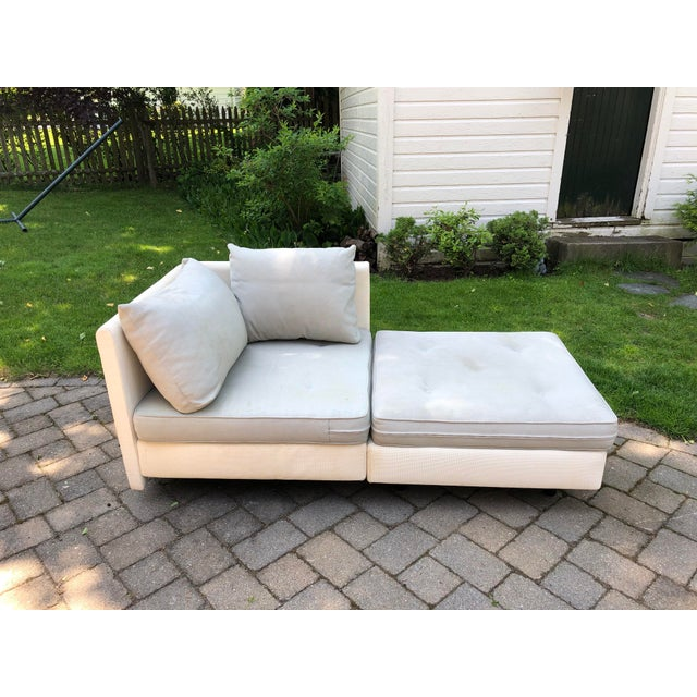 1990s 1990s Mid-Century Modern Ligne Roset Nomade by Didier Gomez Chaise For Sale - Image 5 of 11