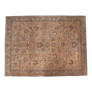 "Vintage Meshed Carpet - 10'6"" x 14'2"" For Sale"