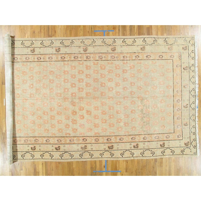 Late 19th Century Antique Khotan Rug - 8′2″ × 15′8″ For Sale - Image 11 of 11