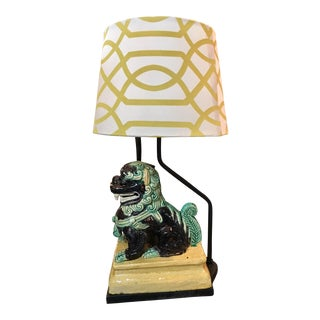 Foo Dog Chinese Lamp For Sale