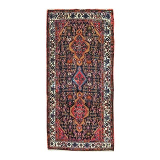 Mid 20th Century Hand Knotted Persian Rug For Sale