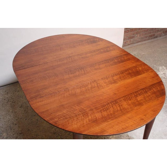 Gio Ponti Italian Walnut Dining Table for Singer & Sons - Image 6 of 11