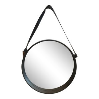 Traditional Captain Black Round Wall Mirror