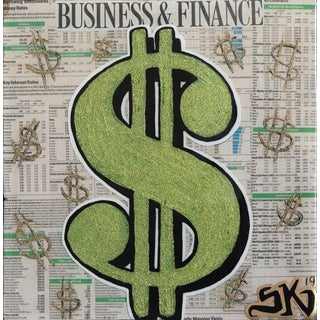"""Business & Finance"" Original Artwork by Sean Keith For Sale"