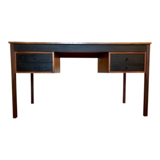 Mid-Century Walnut Writing Desk For Sale