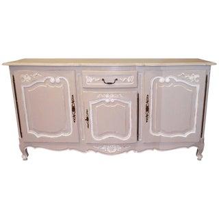 Louis XV Style Grey & White Sideboard