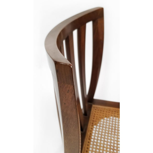 Wood 1960's Baker Far East Collection Dining Room Table and Chairs by Michael Taylor For Sale - Image 7 of 13