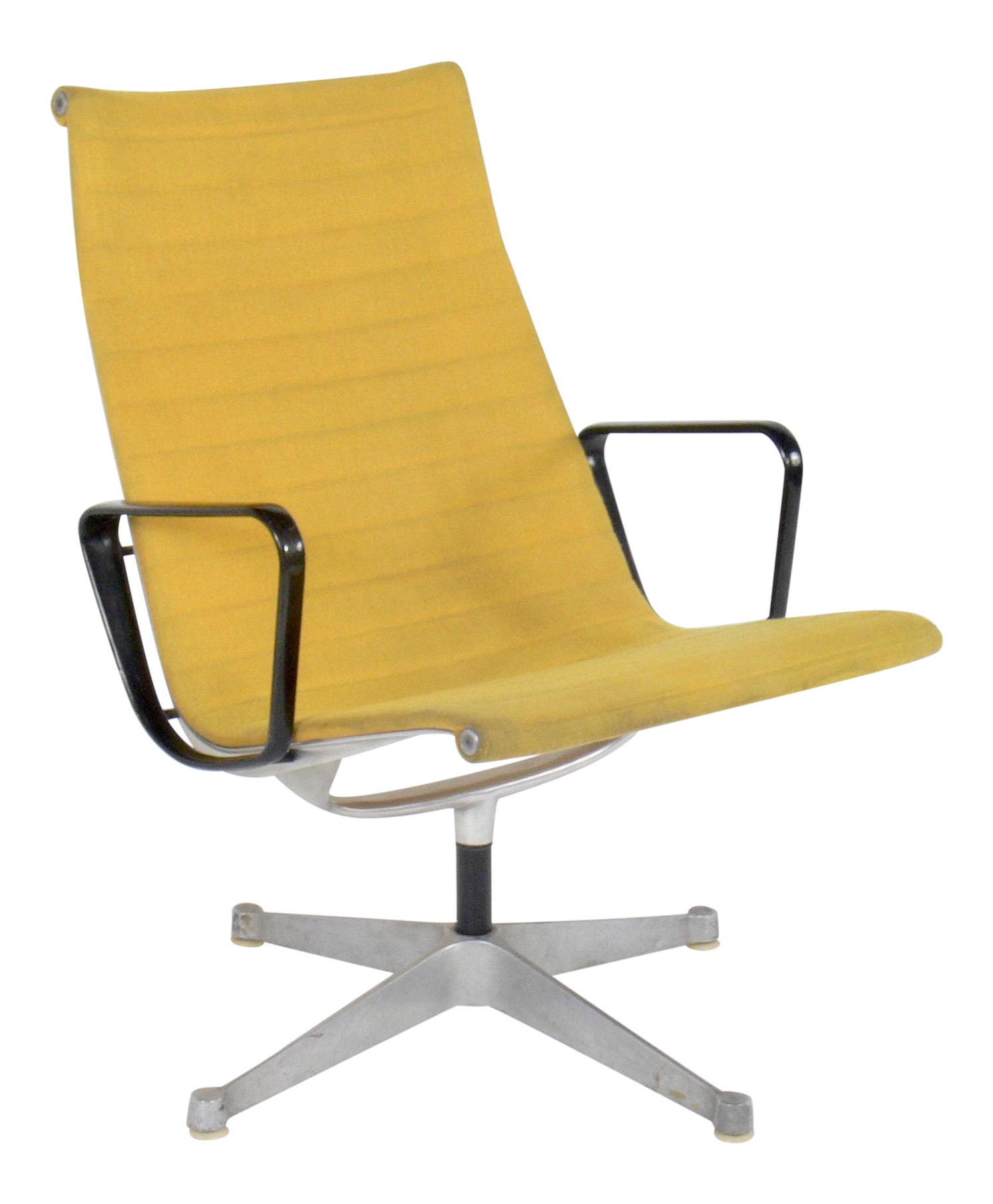 vintage office chair. Vintage Eames For Herman Miller Aluminum Group Lounge Chair Office