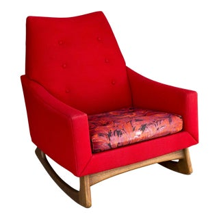 Mid Century Kroehler American Leisure Collection Rocking Chair For Sale