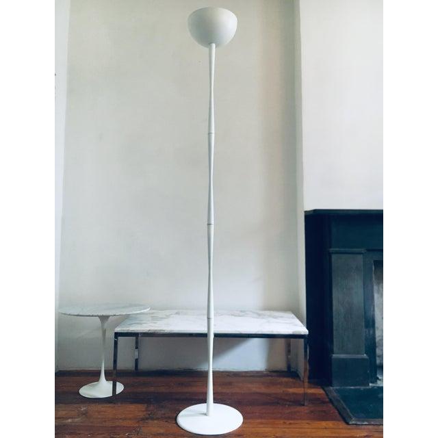 "White Estelle & Ervin Laverne Planter 89"" Tall 1960 Mis Century Modern For Sale - Image 8 of 8"
