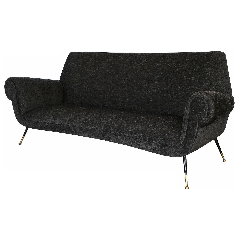 Beau Italian Midcentury Sofa By Gigi Radice For Minotti