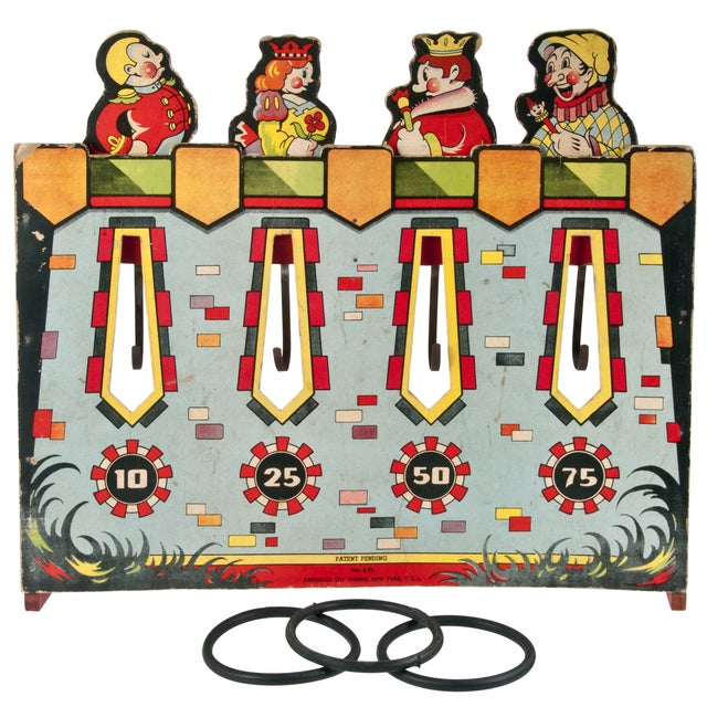 Vintage American Ring Toss Game - Image 1 of 4