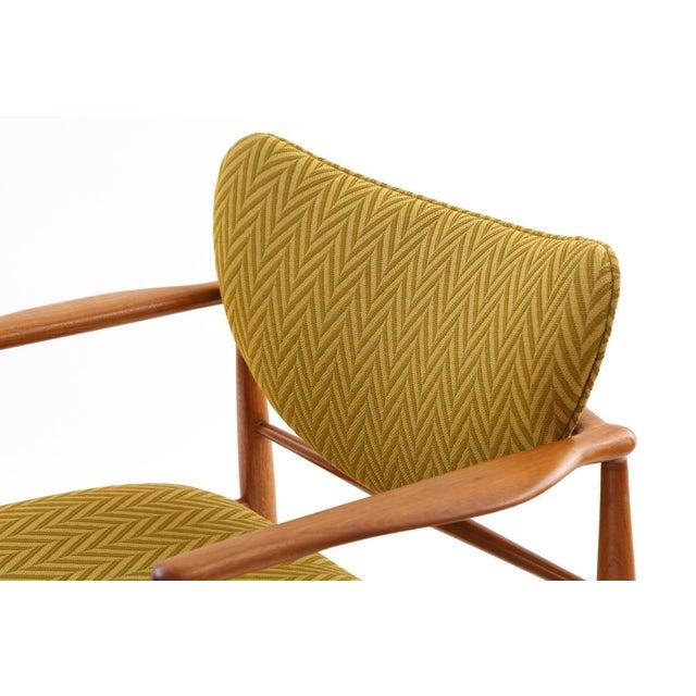 Finn Juhl Pair of Finn Juhl 48 Armchairs For Sale - Image 4 of 7