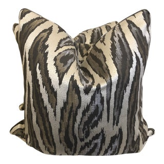 "Robert Allen ""Convection"" in Mica 22"" Pillows-A Pai For Sale"