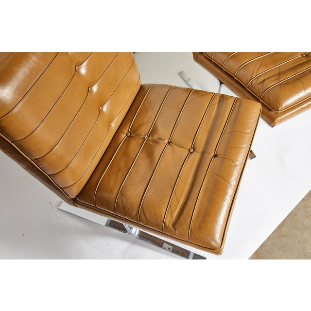 Pair of Midcentury Lounge Chairs For Sale - Image 12 of 13