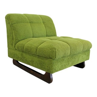 Mid-Century Modern Adrian Pearsall Style Sculpted Leg Slipper Chair For Sale