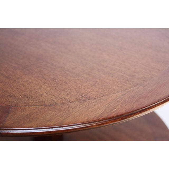 Edward Wormley for Dunbar, Two-Tier Mahogany Occasional Table - Image 5 of 10