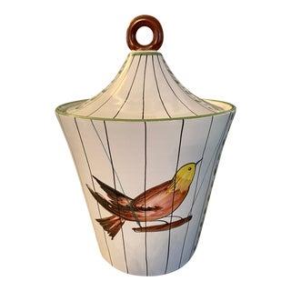 1960s Italian Bird Ice Bucket For Sale