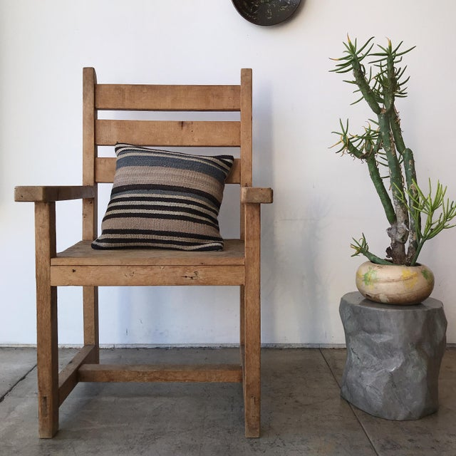 Made by our friend, Clayton Wilcox, as a project many years ago, this chair features ample proportions and beautiful...