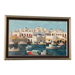 Greek Islands Original Painting For Sale