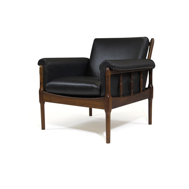 Danish Modern Torbjørn Afdal Rosewood Lounge Chairs - a Pair For Sale - Image 3 of 12