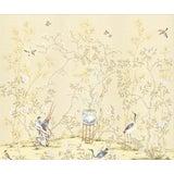 """Image of Casa Cosima Cream Brighton Triptych Wallpaper Mural - 3 Panels 108"""" W X 100"""" H For Sale"""