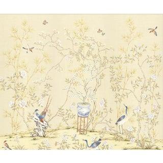 """Casa Cosima Cream Brighton Triptych Wallpaper Mural - 3 Panels 108"""" W X 100"""" H"""