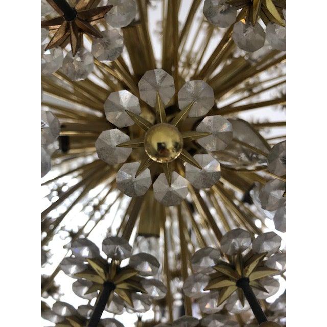 Mid 20th Century Swarovski Schonbek Sputnik Chandlier For Sale In Chicago - Image 6 of 13