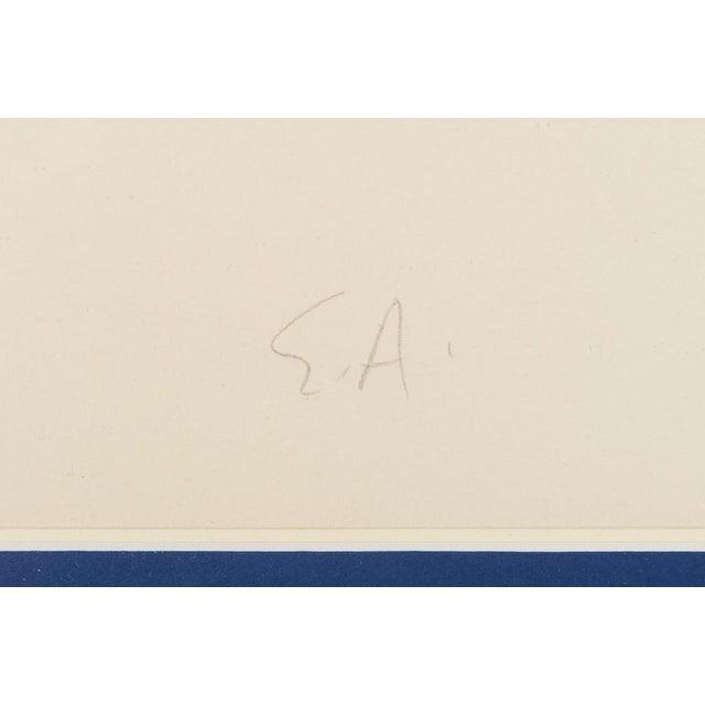 "Blue ""Circus Bareback Rider"" Framed Alexander Calder Lithograph For Sale - Image 8 of 10"