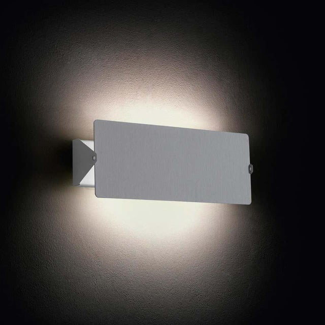 Silver Charlotte Perriand 'Applique à Volet Pivotant Double' Wall Lights in Aluminum For Sale - Image 8 of 8