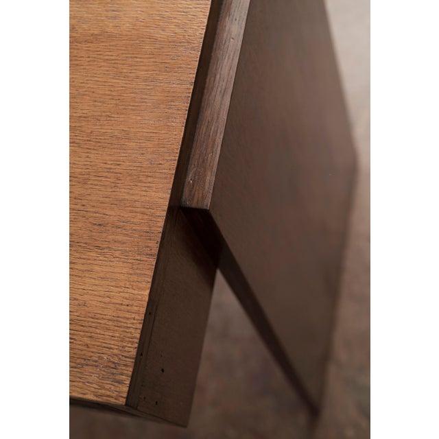 Wood Handsome French Modernist Desk in Walnut, 1950s For Sale - Image 7 of 12