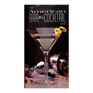American Bar & Cocktail Book For Sale