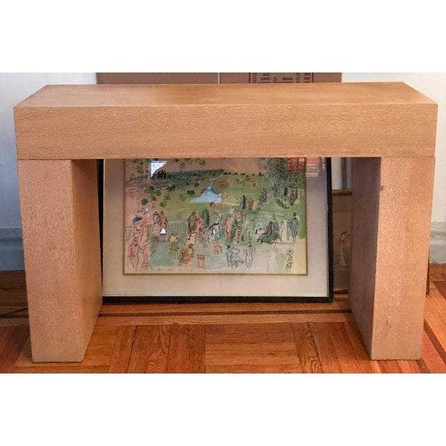 Modern Wood Console Table - Image 10 of 10