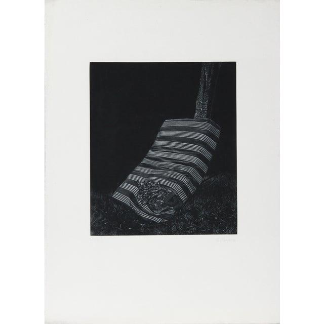Artist: Gerde Ebert, German (1947 - ) Title: Mattress Year: 1976 Medium: Mezzotint, signed and numbered in pencil Edition:...