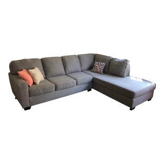 Gray 2 Piece Sectional