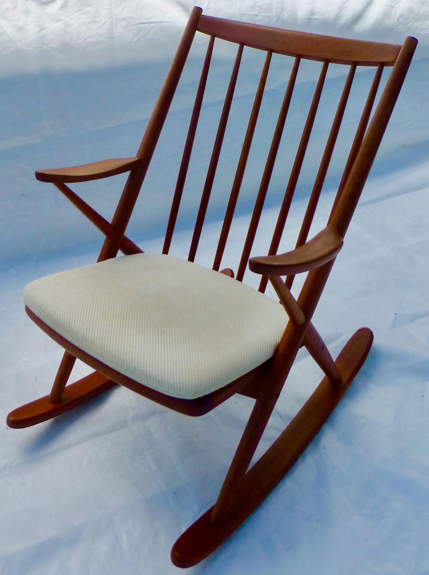 Brahmin Mobler Danish Rocking Chair   Image 2 Of 11