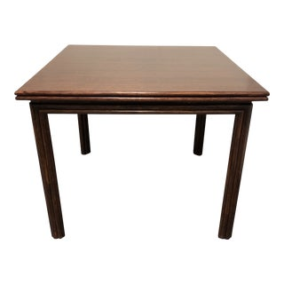 McGuire Flip Flop Bamboo + Wood Table For Sale