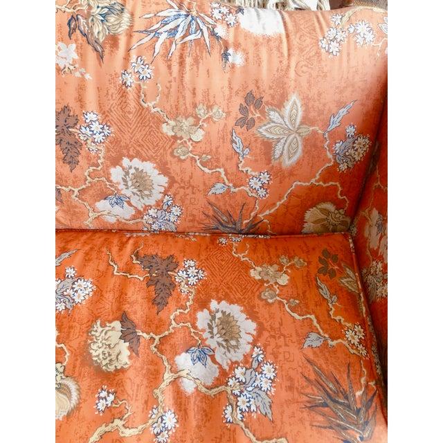 Vintage Baker Camelback Sofa For Sale - Image 10 of 12