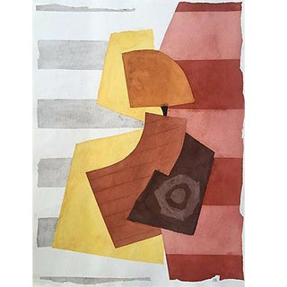 Watercolor Abstract by Roger Stokes For Sale