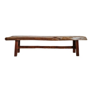 Mid 20th Century Old Teak Work Bench For Sale