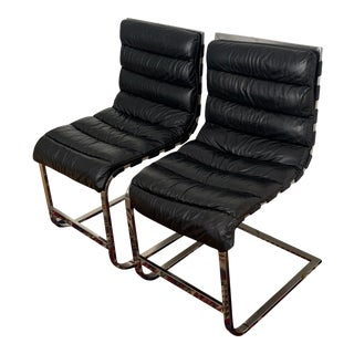 Restoration Hardware Oviedo Side Chairs - a Pair For Sale