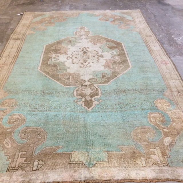 "Turkish Anatolian Rug -6'6""x10'6"" For Sale - Image 4 of 13"
