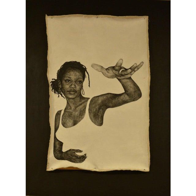"Original ""Woman"" by Kellie Kaori Vernon For Sale In Atlanta - Image 6 of 6"