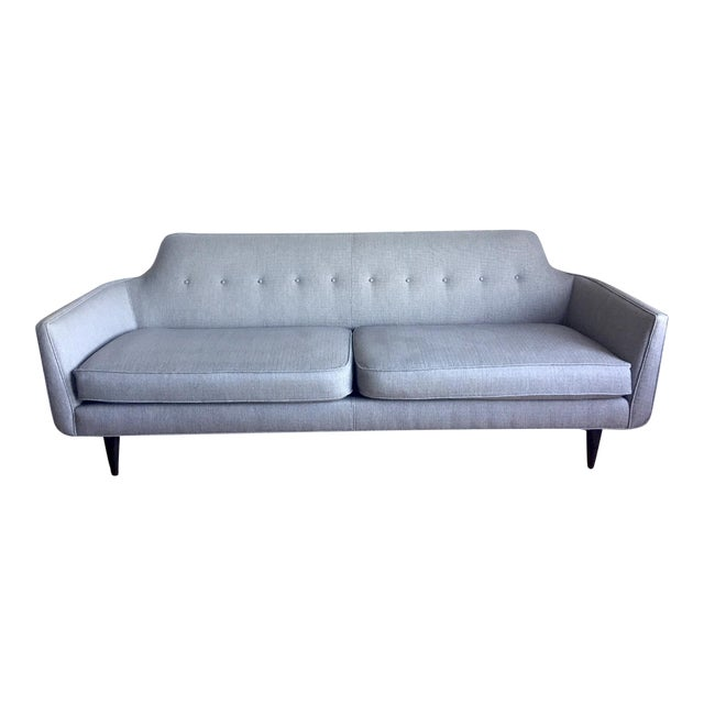 Crate & Barrel Mid-Century Modern Gia Sofa - Image 1 of 7