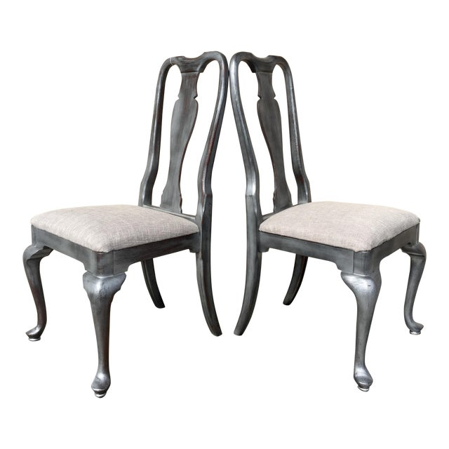 French Chairs - Pair - Image 1 of 4