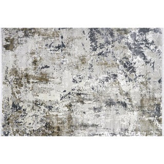 "Nalbandian - Contemporary Turkish Cosmos Rug - 3'3"" X 4'11"" For Sale"
