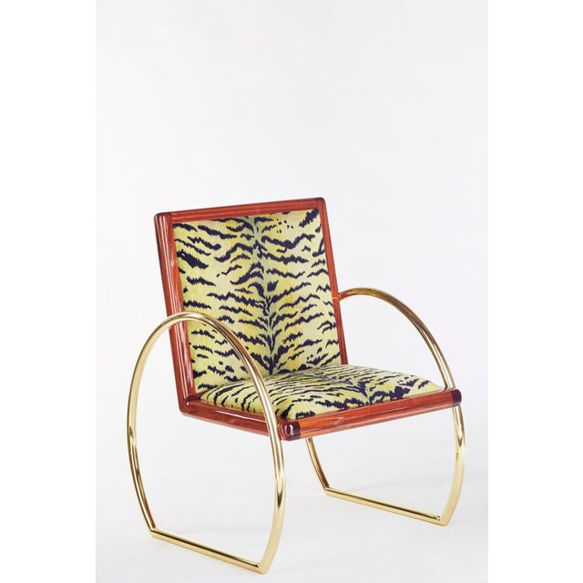D-Ring Lounge Chair by Artist Troy Smith - Contemporary Design - Artist Proof - Custom Furniture For Sale - Image 9 of 10