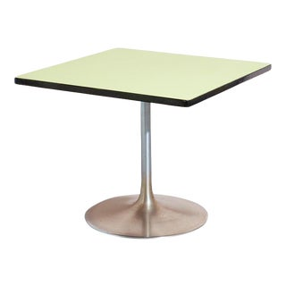 Lime Green Laminate Dining Table For Sale