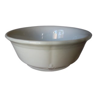 English Ironstone Serving Bowl For Sale